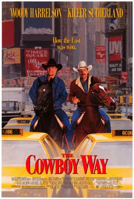 The Cowboy Way - Movie Poster - Reproduction - 11 x 17 Style B