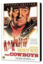 The Cowboys - 27 x 40 Movie Poster - Style A - Museum Wrapped Canvas