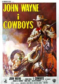 The Cowboys - 11 x 17 Movie Poster - Style A