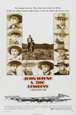 The Cowboys - 27 x 40 Movie Poster - Style C