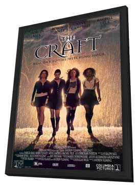 The Craft - 11 x 17 Movie Poster - Style A - in Deluxe Wood Frame