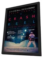 The Crash Reel - 11 x 17 Movie Poster - Style B - in Deluxe Wood Frame