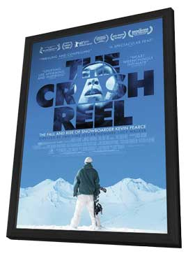 The Crash Reel - 11 x 17 Movie Poster - Style D - in Deluxe Wood Frame