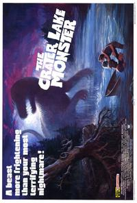 The Crater Lake Monster - 27 x 40 Movie Poster