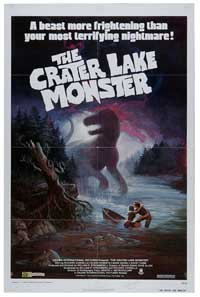 The Crater Lake Monster - 11 x 17 Movie Poster - Style A