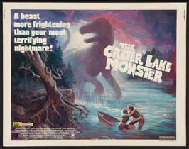 The Crater Lake Monster - 11 x 14 Movie Poster - Style B