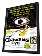The Crawling Eye - 11 x 17 Movie Poster - Style A - in Deluxe Wood Frame
