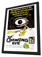 The Crawling Eye - 27 x 40 Movie Poster - Style A - in Deluxe Wood Frame