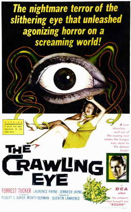 The Crawling Eye - 11 x 17 Movie Poster - Style A