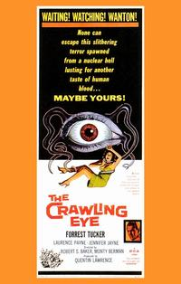 The Crawling Eye - 11 x 17 Movie Poster - Style B