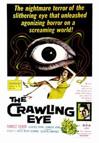The Crawling Eye - 43 x 62 Movie Poster - Bus Shelter Style A