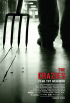 The Crazies - 43 x 62 Movie Poster - Bus Shelter Style E