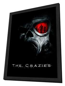 The Crazies - 11 x 17 Movie Poster - Style A - in Deluxe Wood Frame