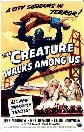 The Creature Walks among Us - 11 x 17 Movie Poster - Style A