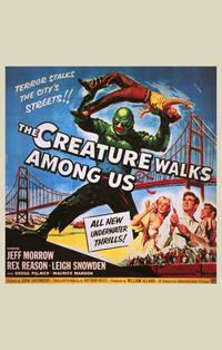The Creature Walks among Us - 11 x 17 Movie Poster - Style B