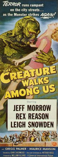 The Creature Walks among Us - 11 x 17 Movie Poster - Style C