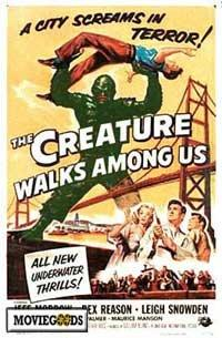 The Creature Walks among Us - 43 x 62 Movie Poster - Bus Shelter Style A