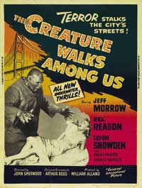 The Creature Walks among Us - 11 x 17 Movie Poster - Style D