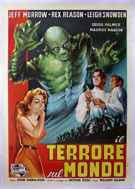 The Creature Walks among Us - 11 x 17 Movie Poster - Italian Style A