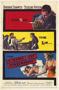 The Crime of Passion - 27 x 40 Movie Poster - Style A