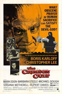 The Crimson Cult - 27 x 40 Movie Poster - Style A