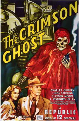 The Crimson Ghost - 11 x 17 Movie Poster - Style A