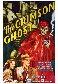 The Crimson Ghost - 43 x 62 Movie Poster - Bus Shelter Style A