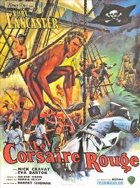The Crimson Pirate - 27 x 40 Movie Poster - French Style A