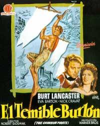 The Crimson Pirate - 11 x 17 Movie Poster - Italian Style C
