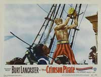 The Crimson Pirate - 11 x 14 Movie Poster - Style K
