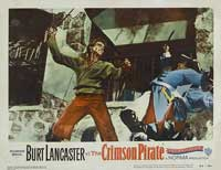 The Crimson Pirate - 11 x 14 Movie Poster - Style L