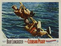The Crimson Pirate - 11 x 14 Movie Poster - Style N