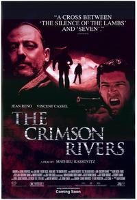 The Crimson Rivers - 27 x 40 Movie Poster - Style B