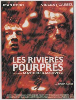 The Crimson Rivers - 11 x 17 Movie Poster - French Style A