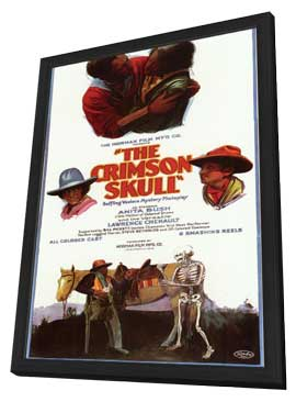 The Crimson Skull - 11 x 17 Movie Poster - Style B - in Deluxe Wood Frame