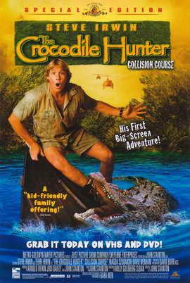 The Crocodile Hunter: Collision Course - 11 x 17 Movie Poster - Style B