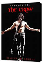 The Crow - 11 x 17 Movie Poster - Style F - Museum Wrapped Canvas