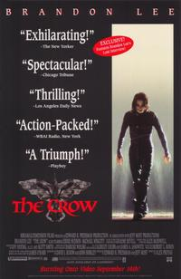 The Crow - 11 x 17 Movie Poster - Style B