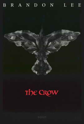 The Crow - 27 x 40 Movie Poster - Style B