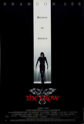 The Crow - 27 x 40 Movie Poster - UK Style A