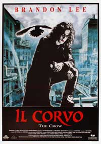 The Crow - 27 x 40 Movie Poster - Italian Style A