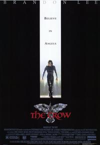 The Crow - 11 x 17 Movie Poster - Style A - Museum Wrapped Canvas