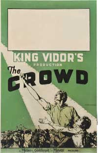 The Crowd - 27 x 40 Movie Poster - Style B