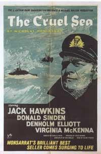 The Cruel Sea - 11 x 17 Movie Poster - Style B