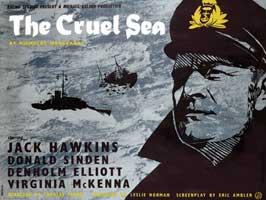The Cruel Sea - 11 x 17 Movie Poster - UK Style A