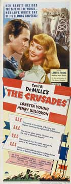 The Crusades - 14 x 36 Movie Poster - Insert Style A