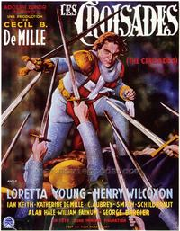 The Crusades - 27 x 40 Movie Poster - Style B