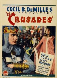 The Crusades - 27 x 40 Movie Poster - Style C