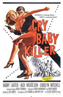 The Cry Baby Killer - 11 x 17 Movie Poster - Style A