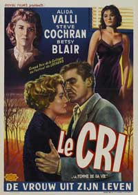 The Cry - 11 x 17 Movie Poster - Belgian Style A